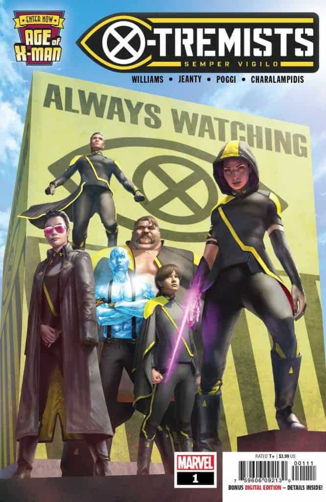 Age of X-Man: The X-Tremists #1 - Main Cover