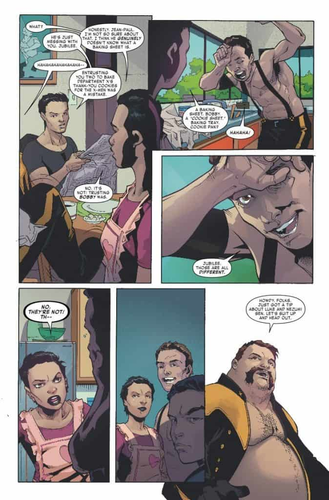 Age of X-Man: The X-Tremists #1 preview page 2