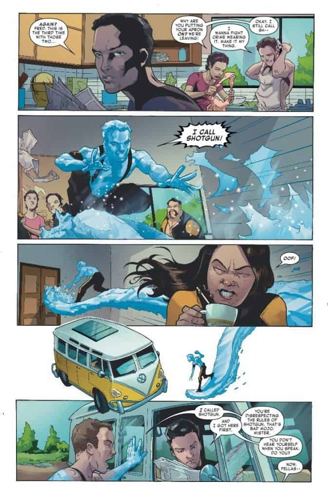 Age of X-Man: The X-Tremists #1 preview page 3