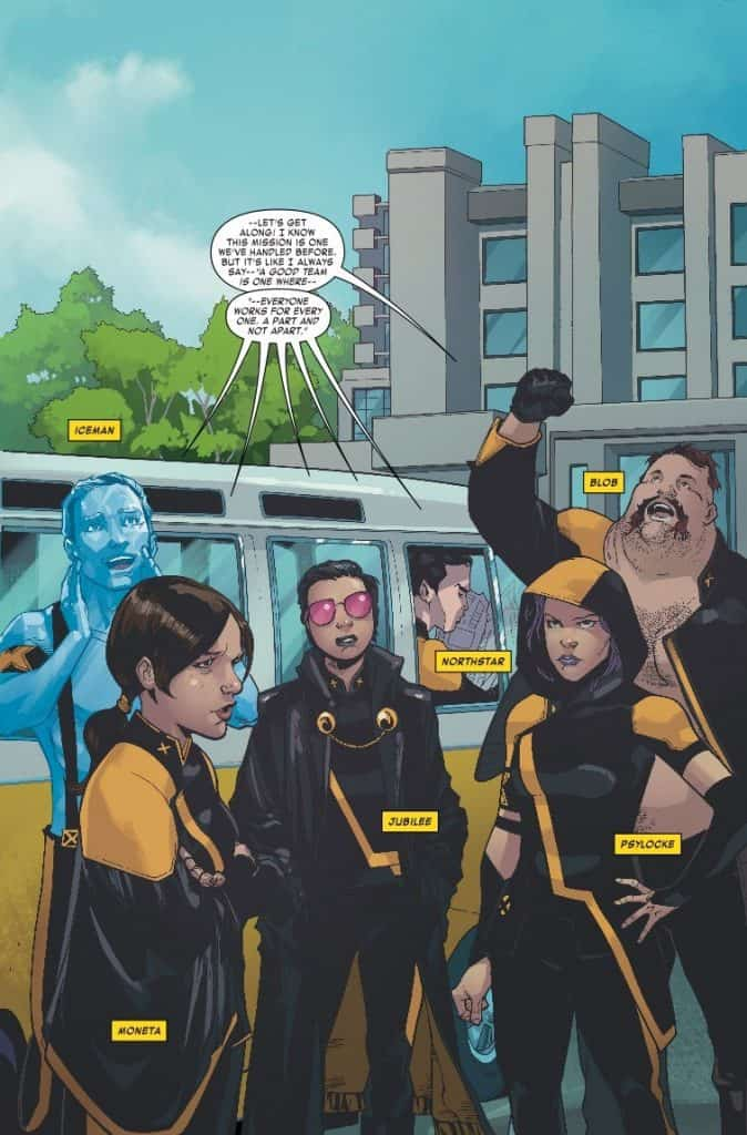 Age of X-Man: The X-Tremists #1 preview page 4