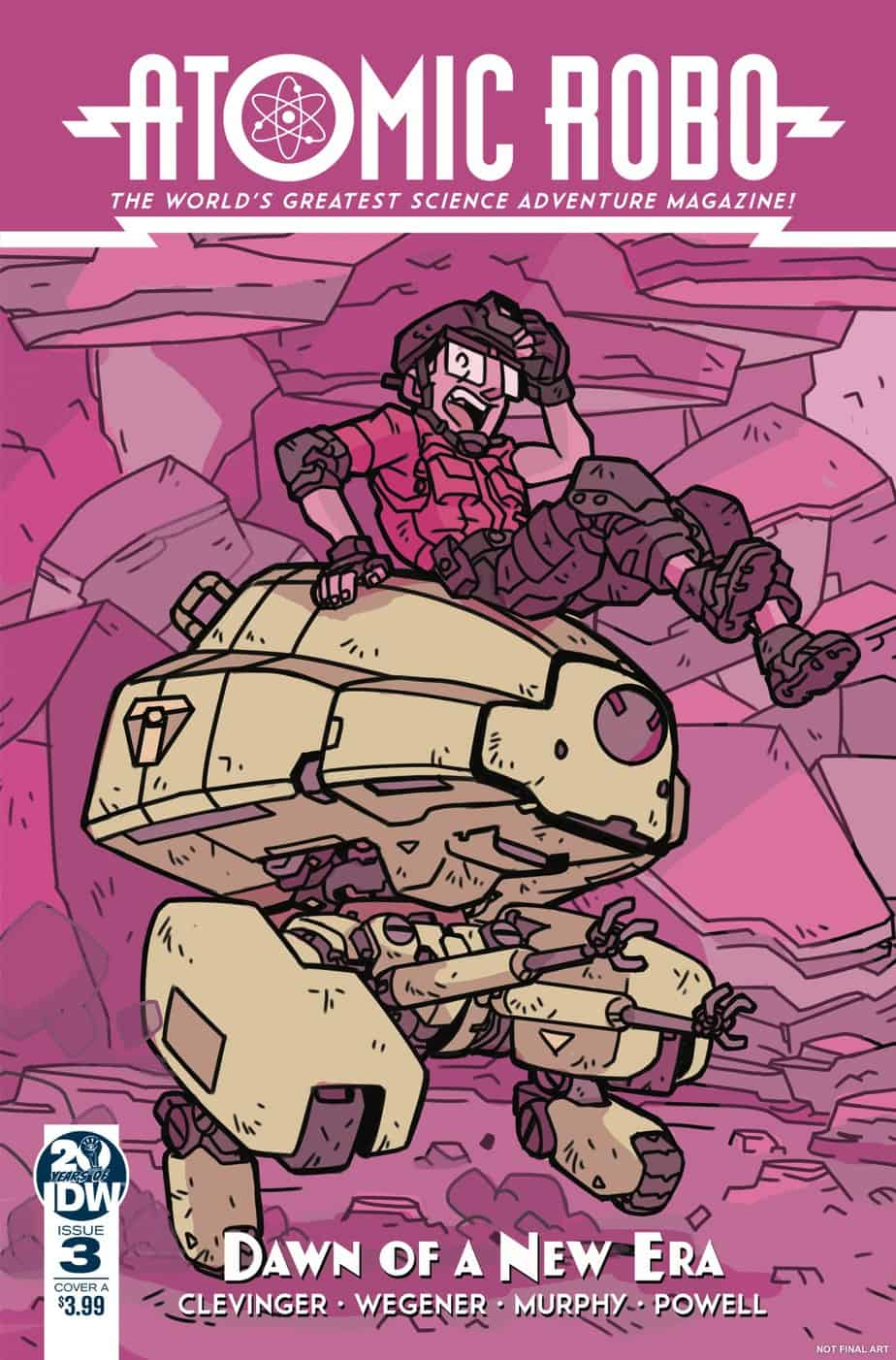 Atomic Robo and the Dawn of a New Era #3 – Cover A