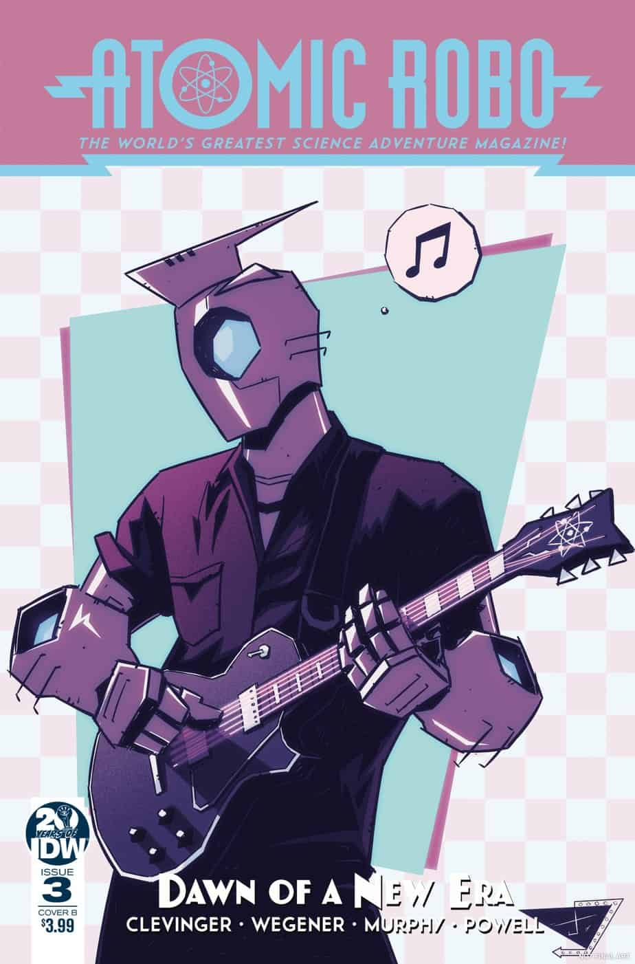 Atomic Robo and the Dawn of a New Era #3 – Cover B