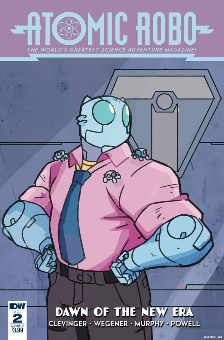 Atomic Robo and the Dawn of a New Era #2 - Cover A