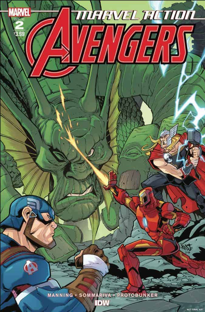 Marvel Action: Avengers #2 - Cover A
