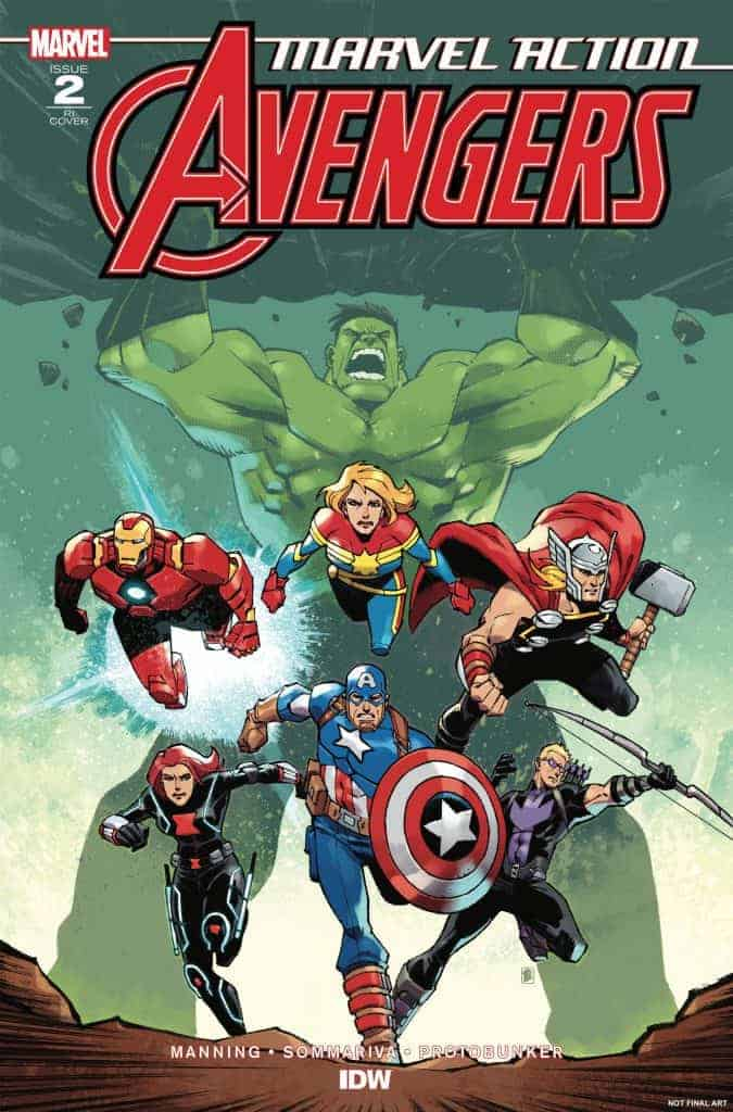 Marvel Action: Avengers #2 - Retailer Incentive Variant