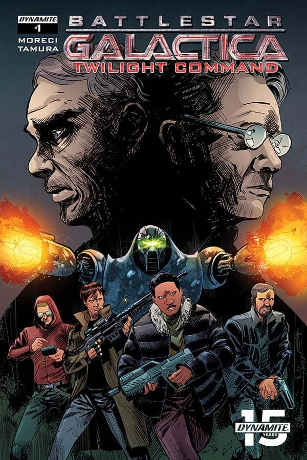 Battlestar Galactica: Twilight Command #1 - Cover B