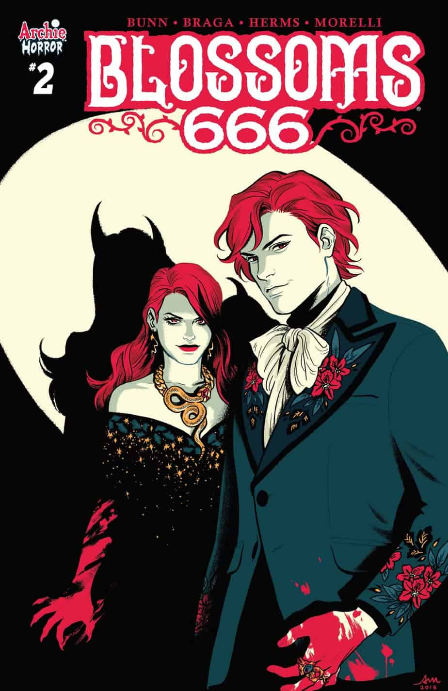 BLOSSOMS 666 #2 - Variant Cover by Audrey Mok