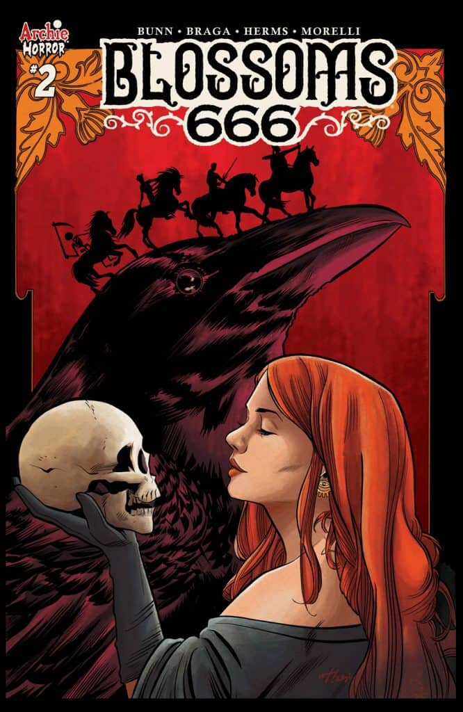 BLOSSOMS 666 #2 - Variant Cover by Wilfredo Torres