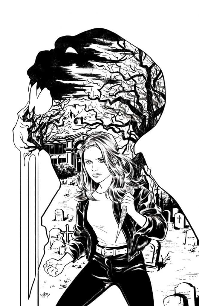 Buffy The Vampire Slayer #2 - Incentive Cover F