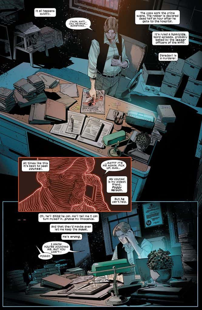 Daredevil #2 preview page 2