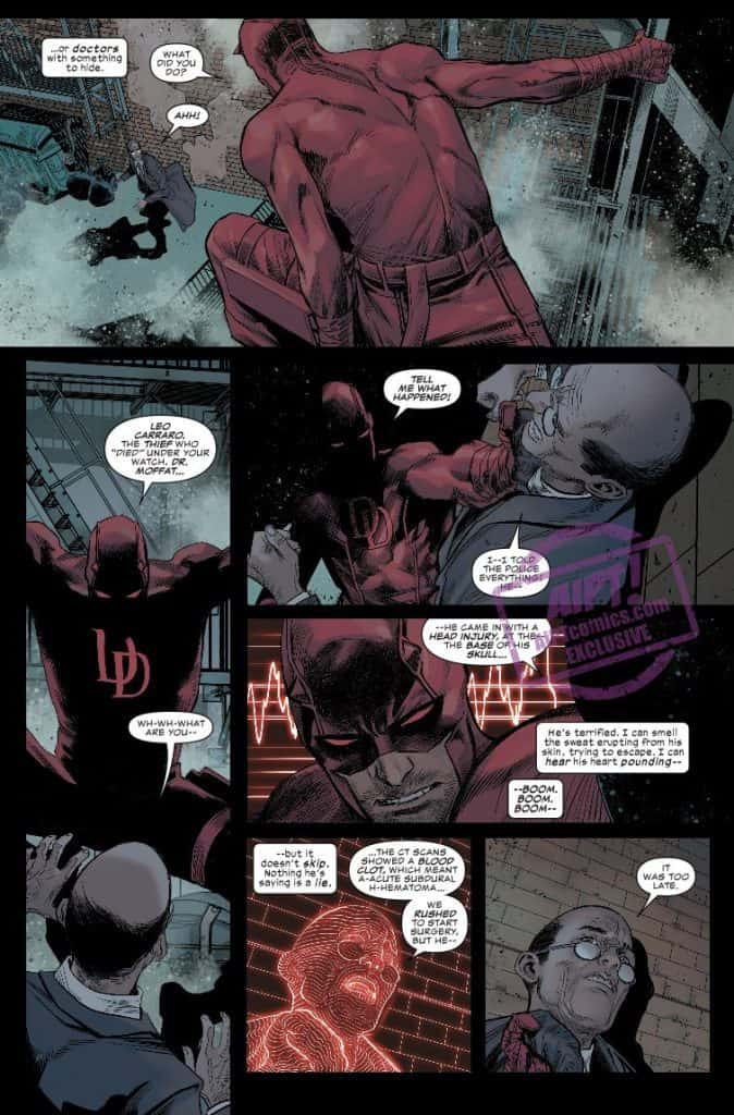 Daredevil #2 preview page 5