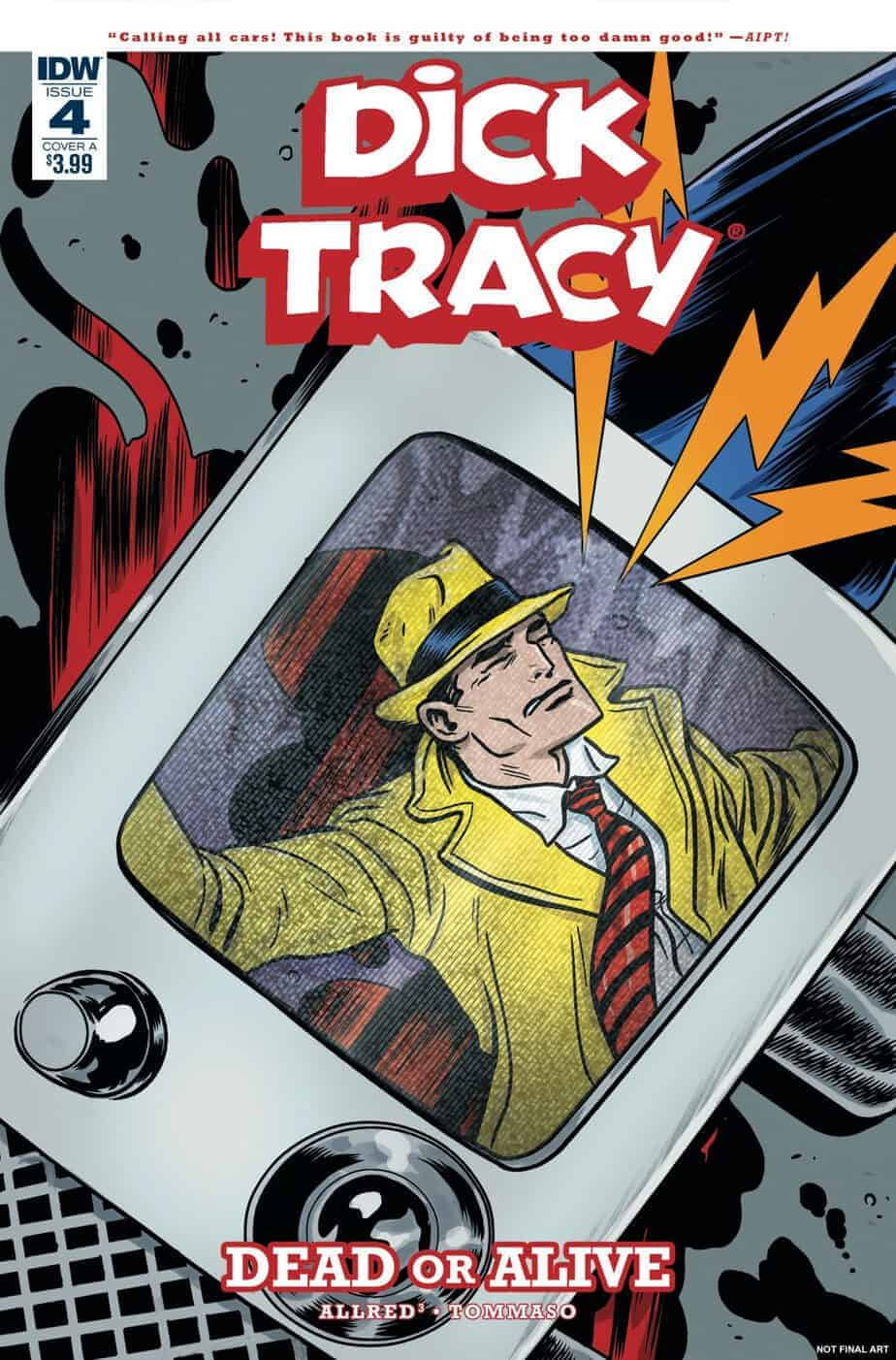 Dick Tracy: Dead or Alive #4 - Cover A