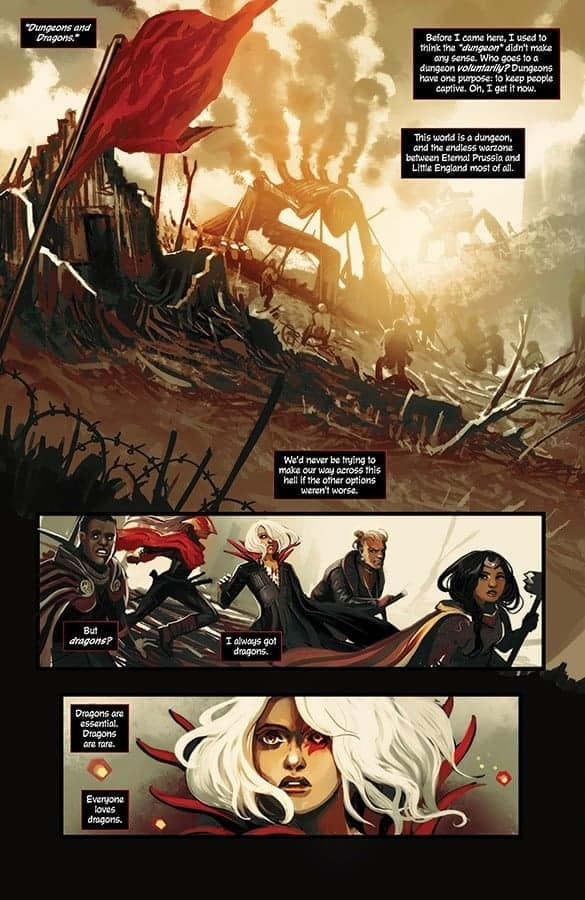 Die #3 preview page 1