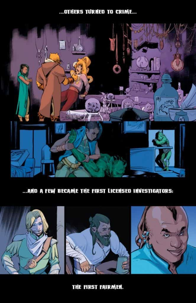 Fairlady #1 - preview page 2