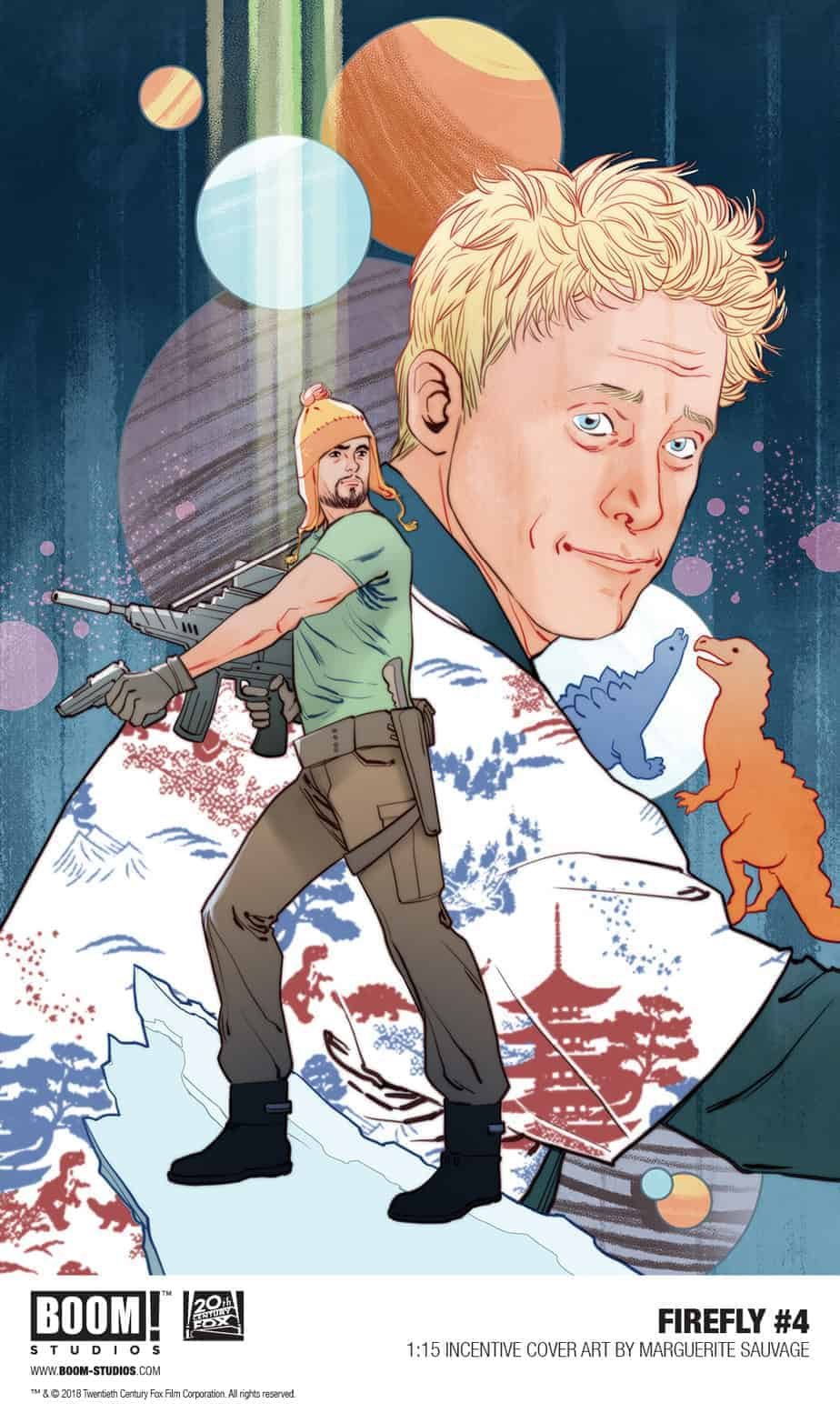 FIREFLY #4 - 1:15 Retailer Incentive Variant by Marguerite Sauvage