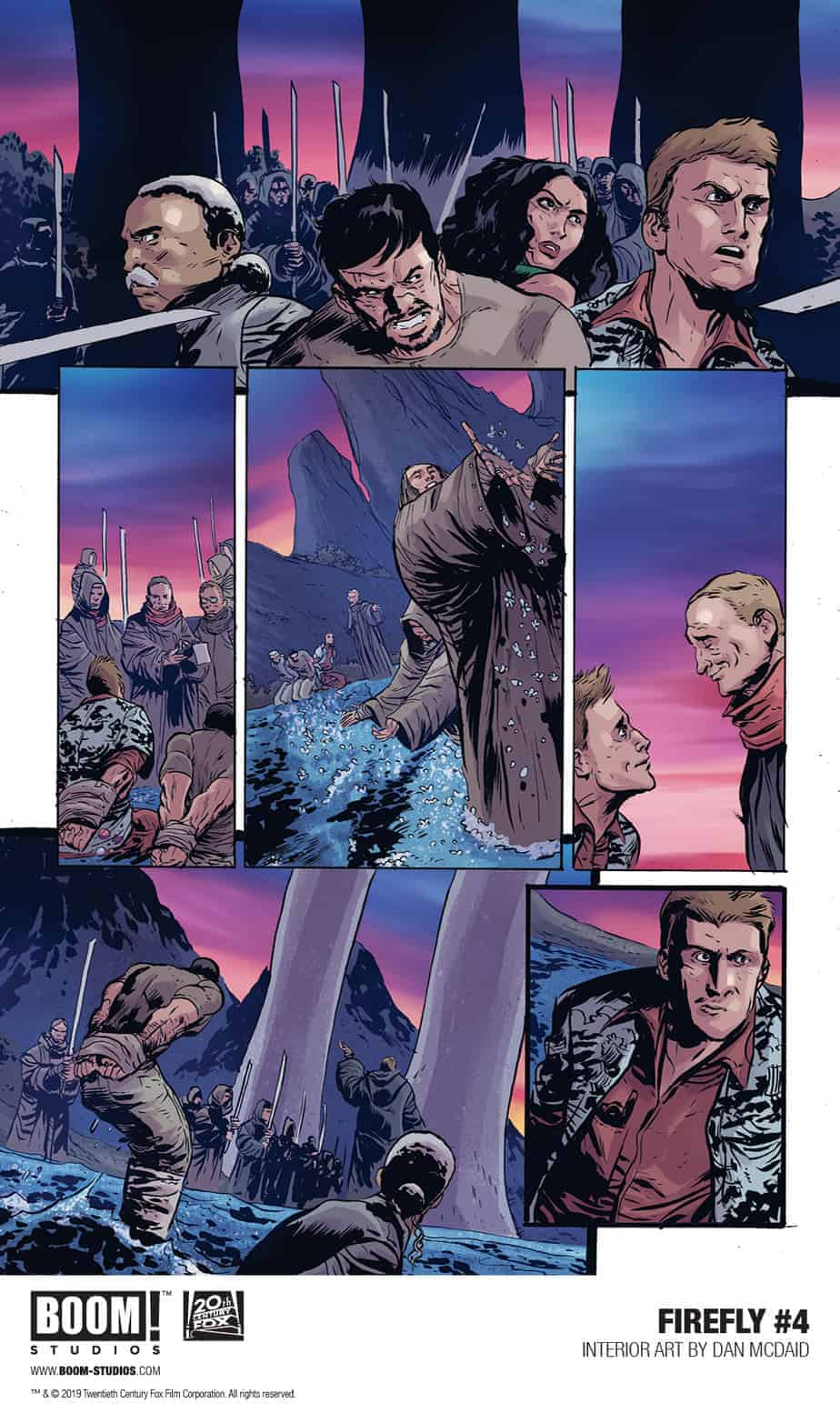 FIREFLY #4 - preview page 1