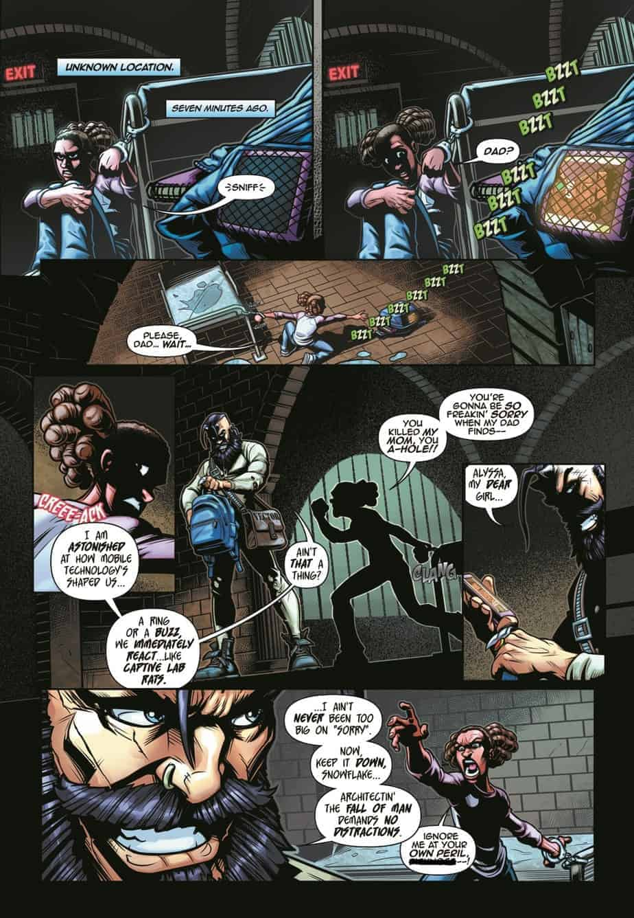 Identity Stunt #3 preview page 2