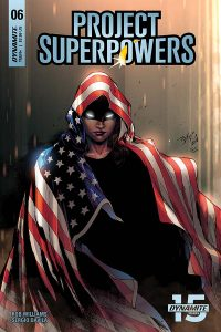 Project Superpowers #6 - Cover B