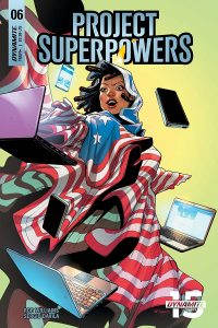 Project Superpowers #6 - Cover E