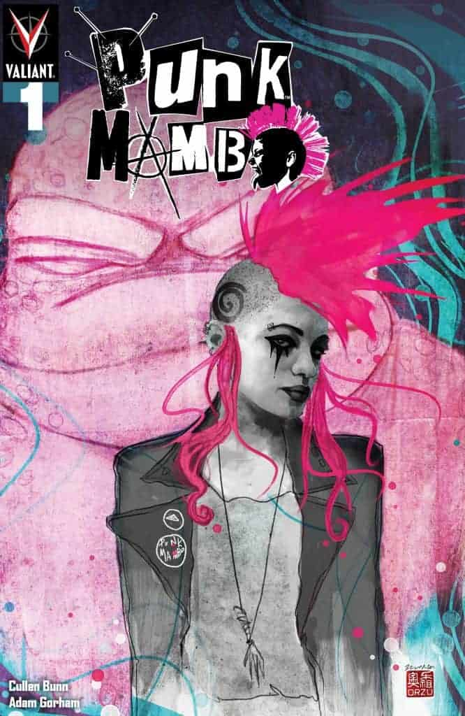 PUNK MAMBO #1 (of 5) – Cover B by Zu Orzu