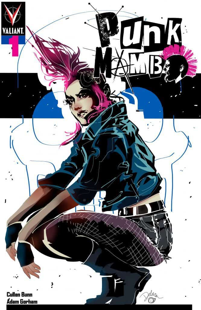 PUNK MAMBO #1 (of 5) – Cover C by Cris Delara