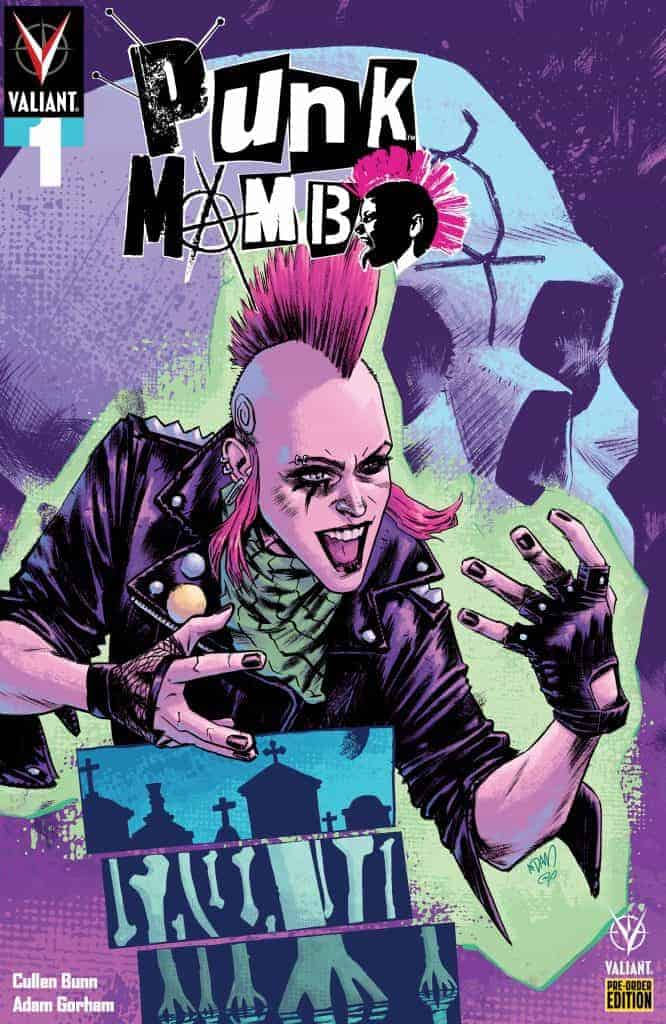 PUNK MAMBO #1 – Pre-Order Edition Cover by Adam Gorham