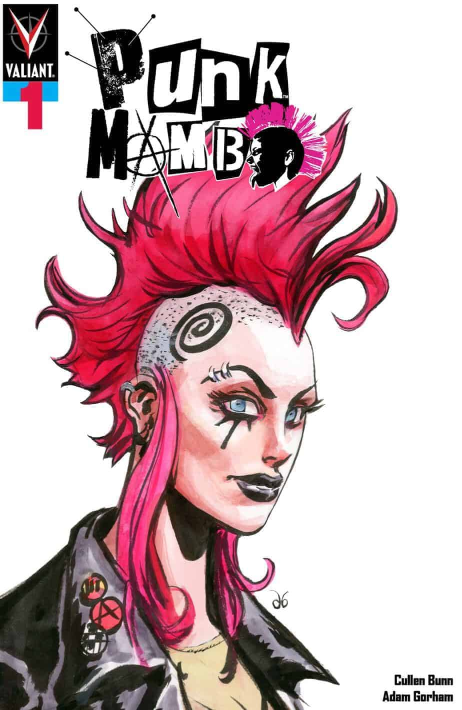 PUNK MAMBO #1 (of 5) – Variant Cover by Dan Brereton