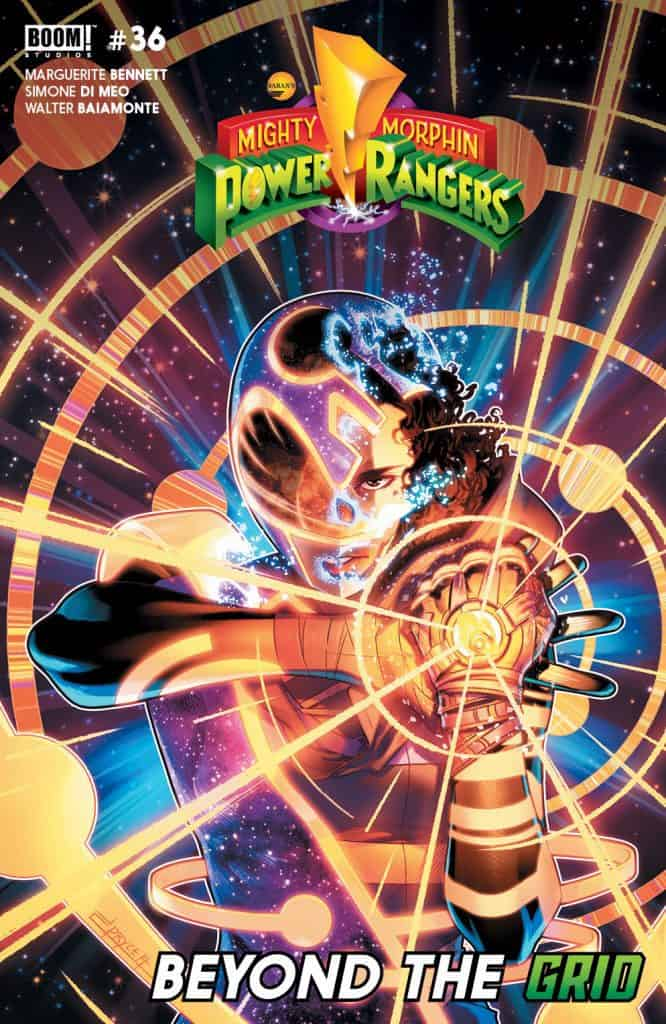 MIGHTY MORPHIN POWER RANGERS #36 - Main Cover