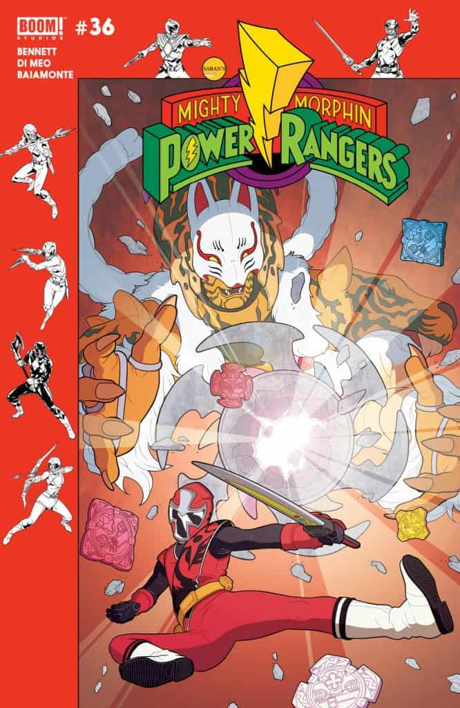 MIGHTY MORPHIN POWER RANGERS #36 - Preorder Cover