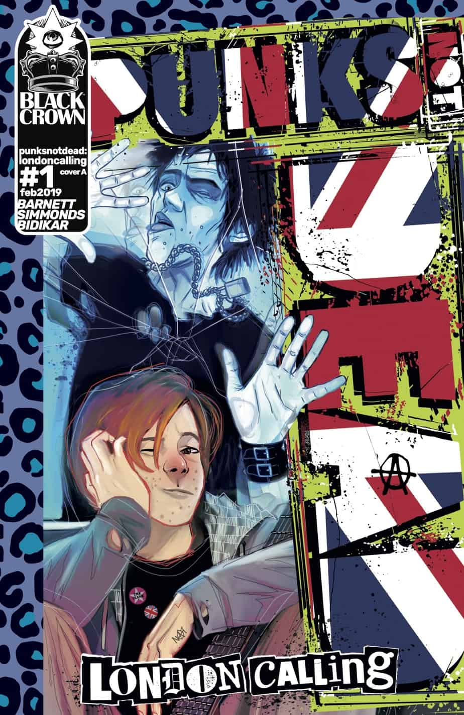 Punks Not Dead: London Calling #1 - Cover A