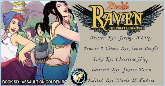 RAVEN THE PIRATE PRINCESS BOOK 6 preview feature