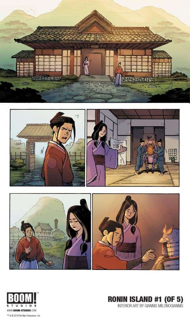 RONIN ISLAND #1 - preview page 1