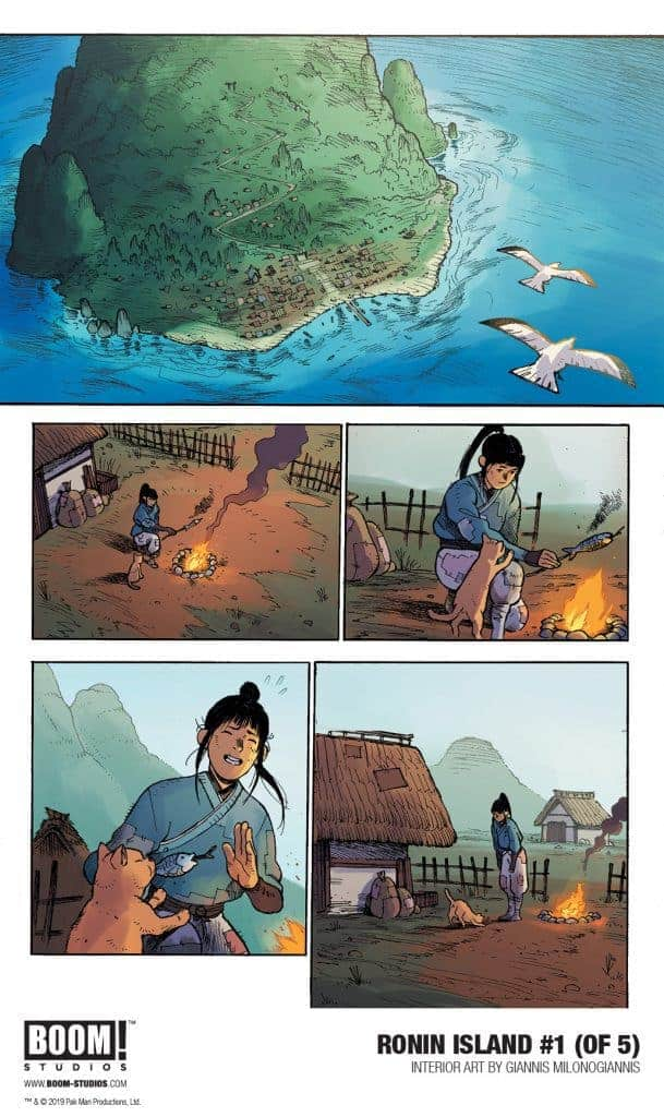 RONIN ISLAND #1 - preview page 2