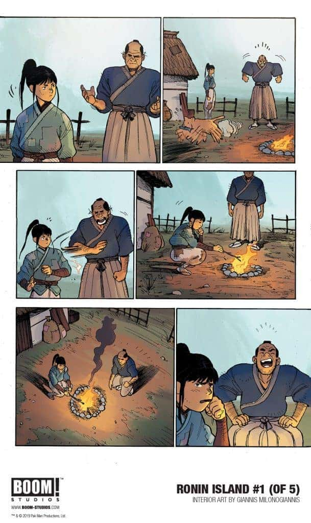 RONIN ISLAND #1 - preview page 3