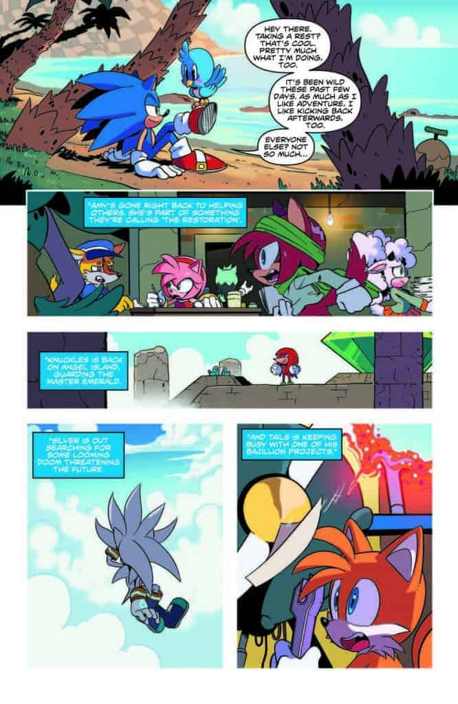 Sonic the Hedgehog #13 - preview page 2