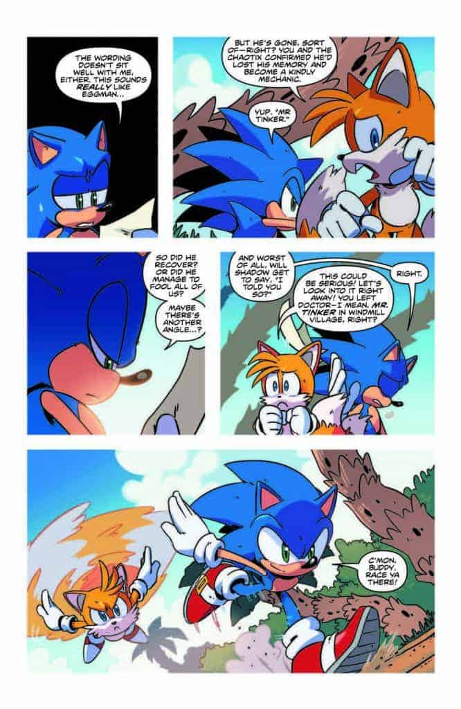 Sonic the Hedgehog #13 - preview page 4
