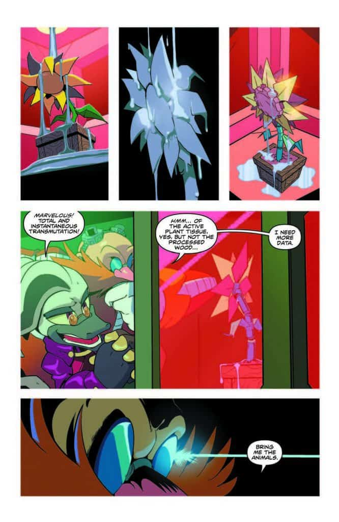 Sonic the Hedgehog #13 - preview page 6