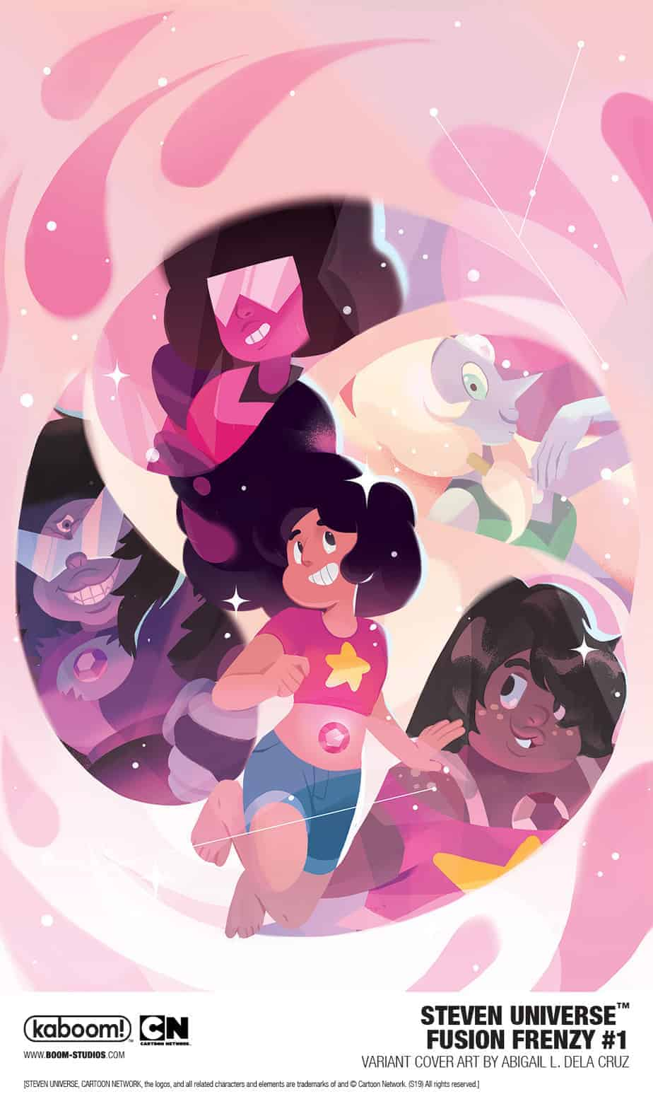 STEVEN UNIVERSE FUSION FRENZY #1 - Incentive Variant Cover
