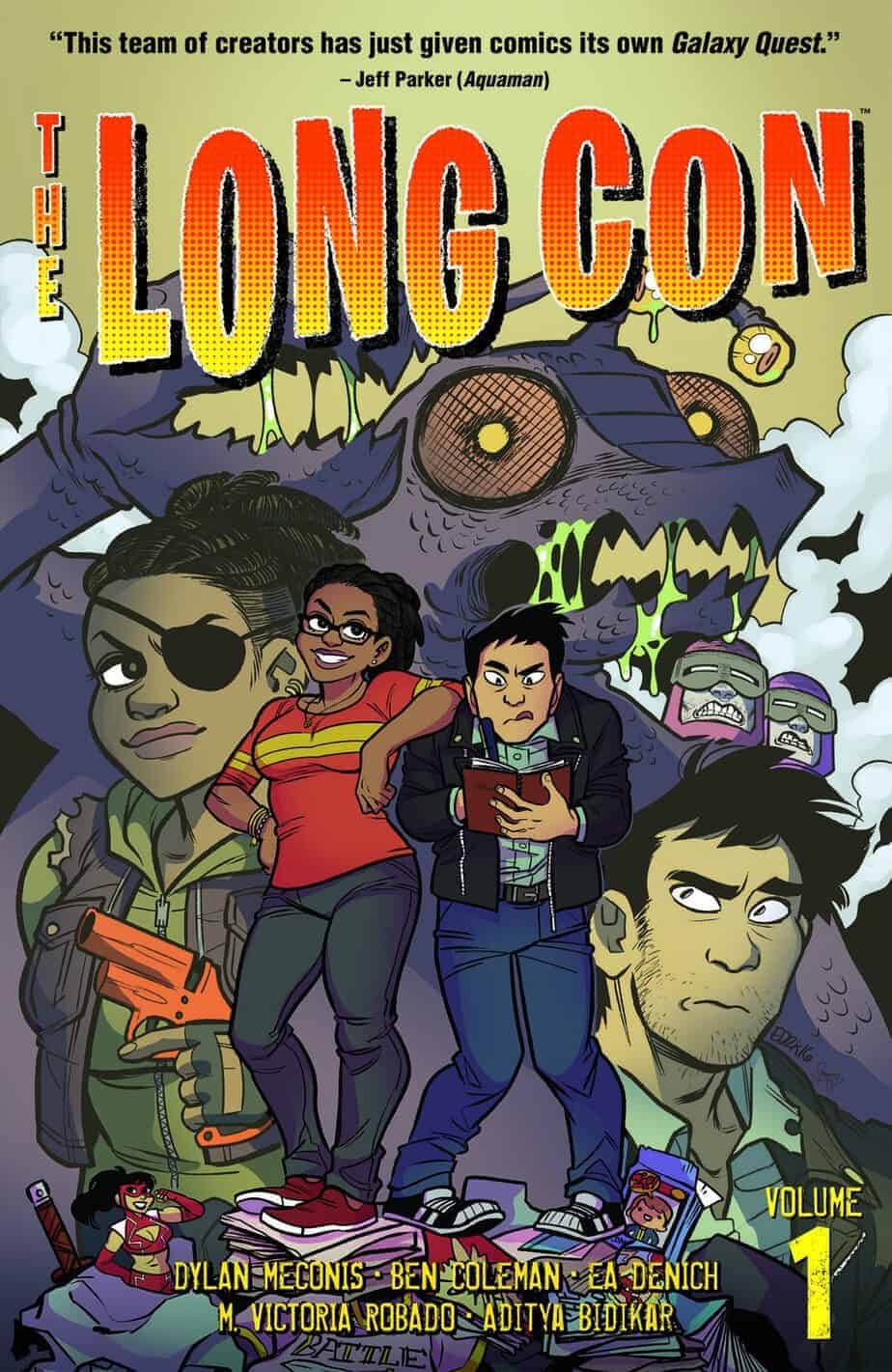 The Long Con Vol. 1 TPB cover