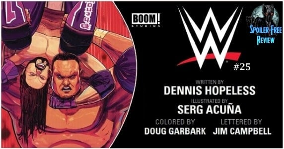 WWE #25 review feature