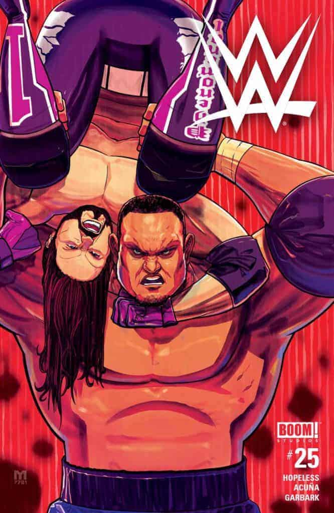 WWE #25 - Main Cover