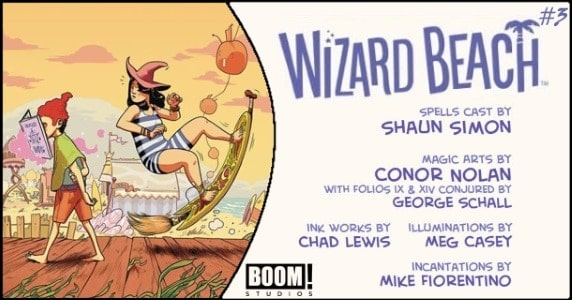 Wizard Beach #3 preview feature