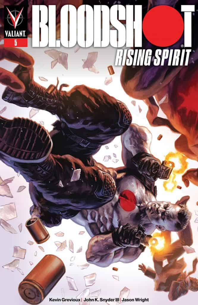 BLOODSHOT: RISING SPIRIT #5 - Cover A