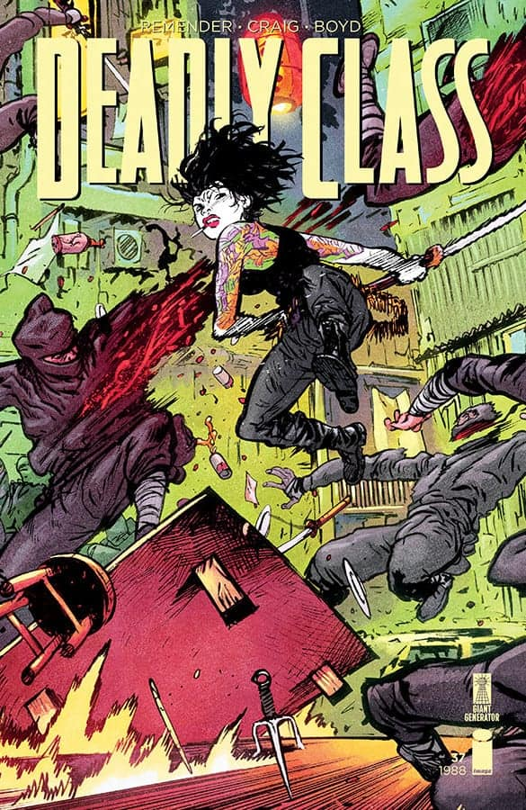 Deadly Class #37 - Cover B