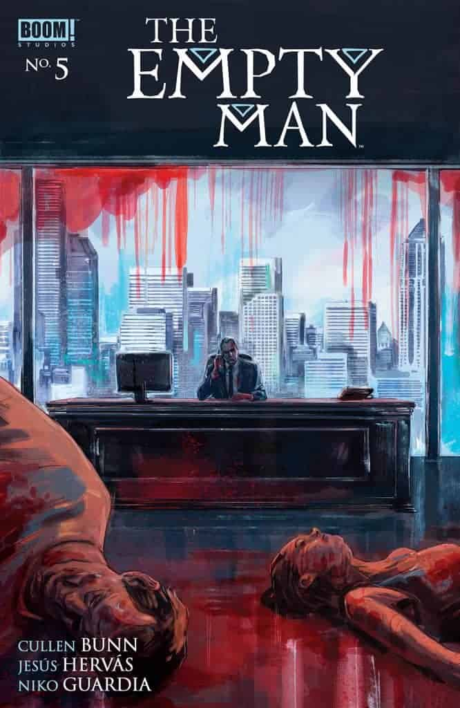 The Empty Man #5 - Preorder Cover
