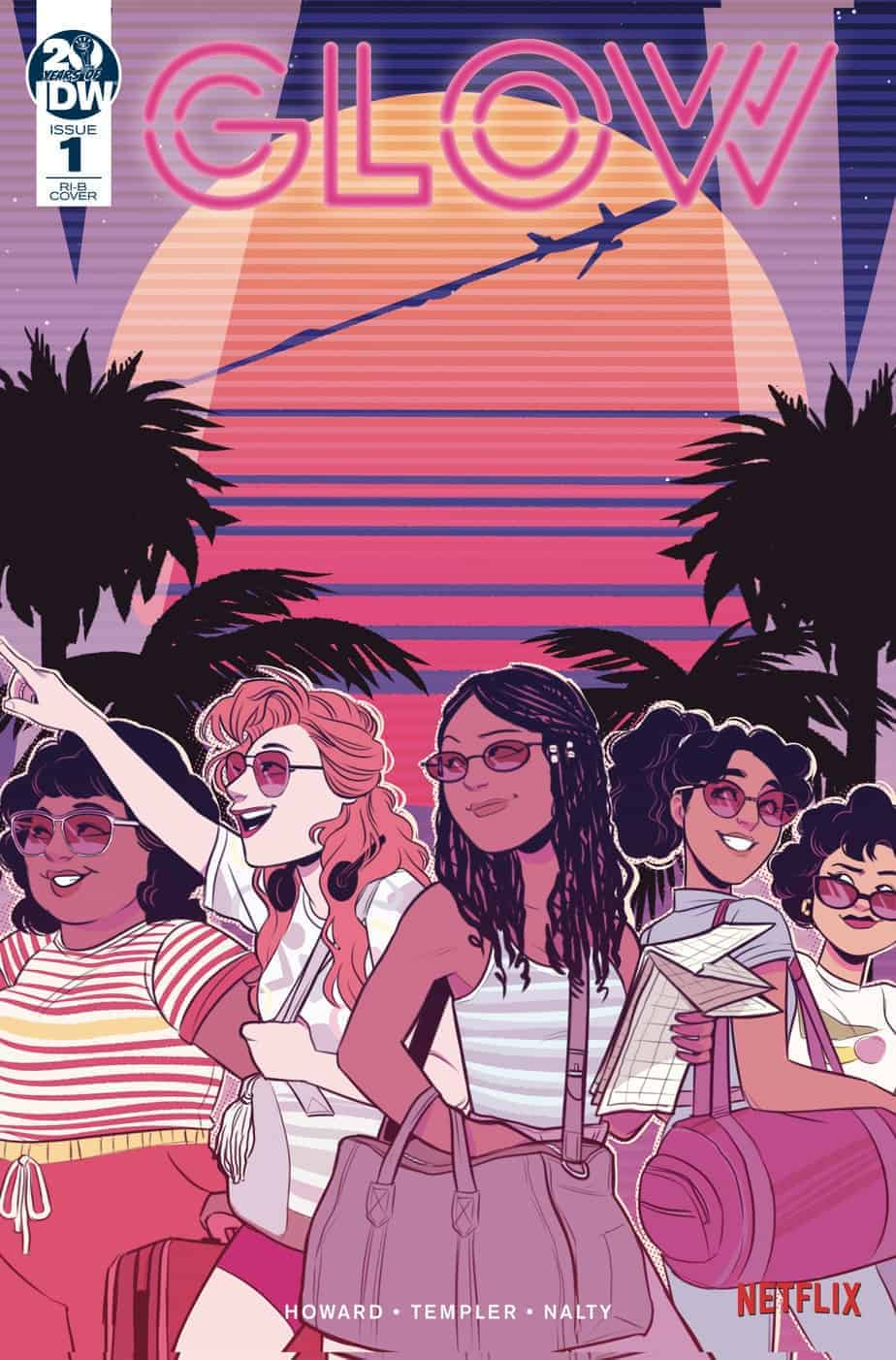 GLOW #1 - Retailer Incentive Variant by Tess Fowler