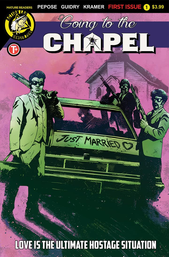 Going to the Chapel #1 - Cover B