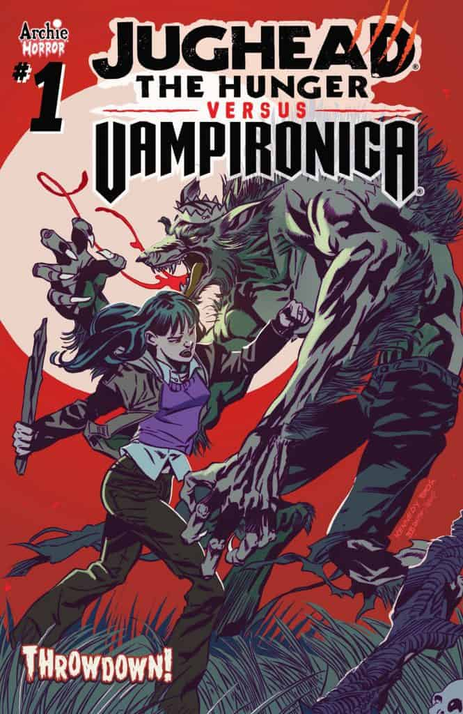 JUGHEAD: THE HUNGER VS. VAMPIRONICA #1 - Main Cover by Pat and Tim Kennedy, Bob Smith, and Matt Herms