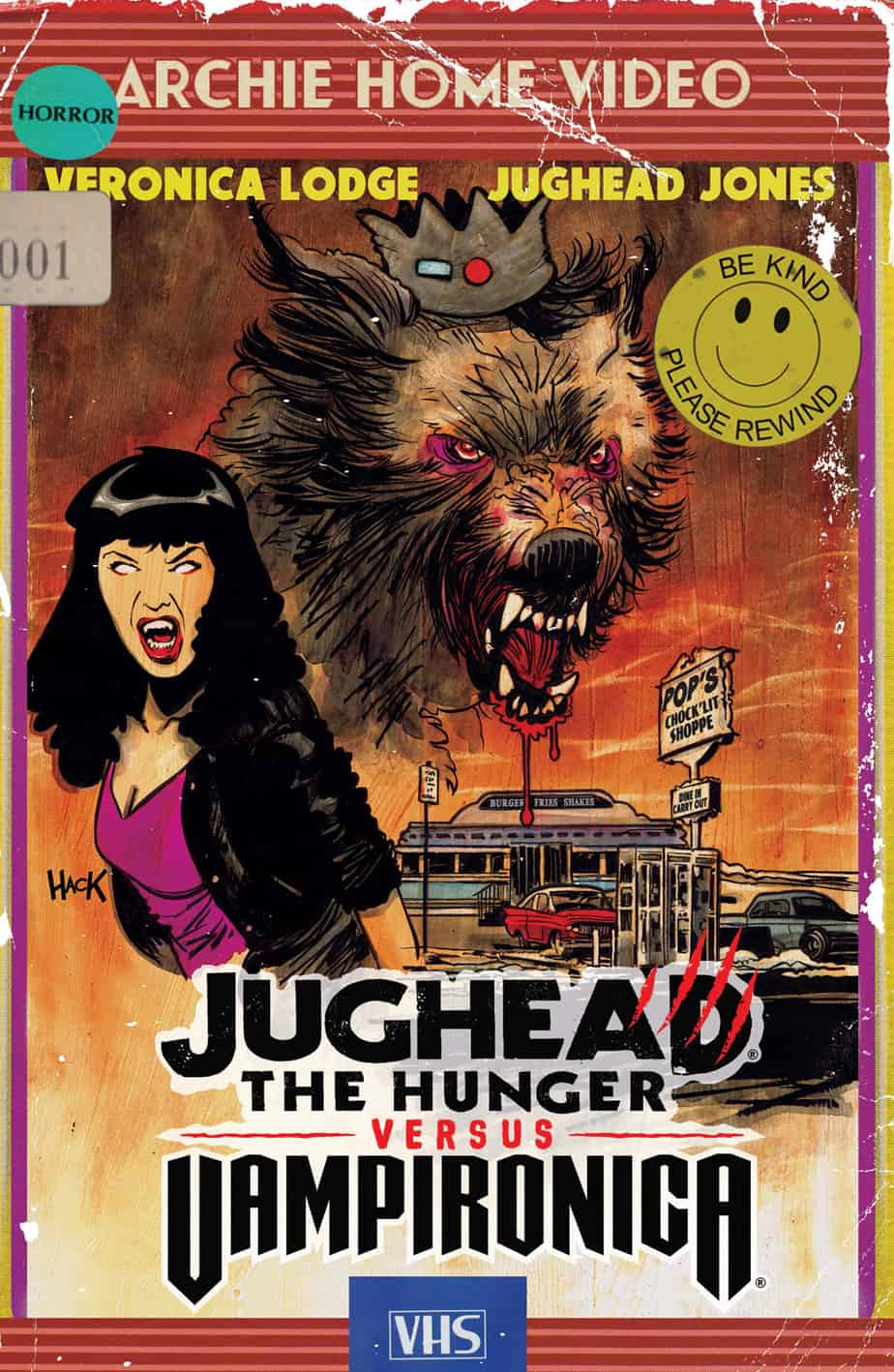 JUGHEAD: THE HUNGER VS. VAMPIRONICA #1 - Variant Cover by Robert Hack