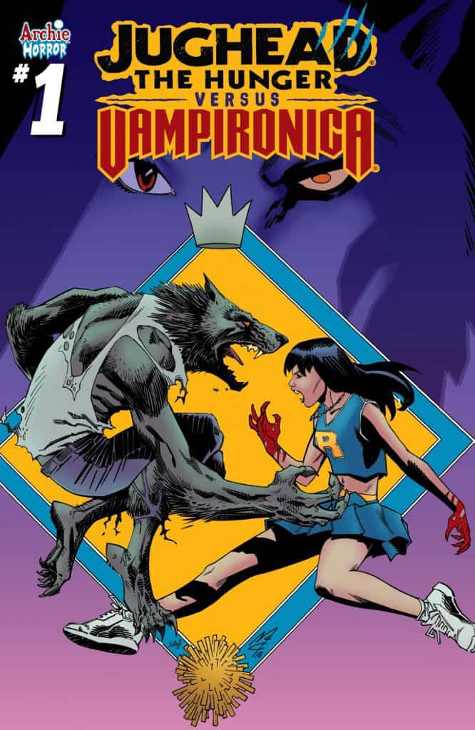 JUGHEAD: THE HUNGER VS. VAMPIRONICA #1 - Variant Cover by John McCrea